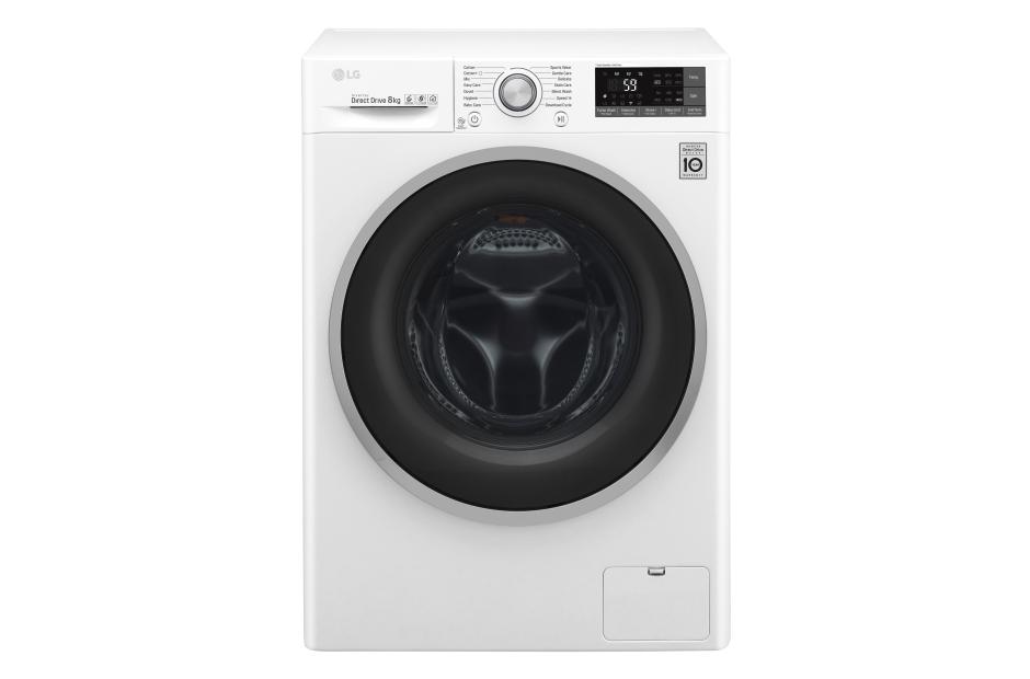 ماشین لباسشویی 8 کیلویی 1400 دور ال جی