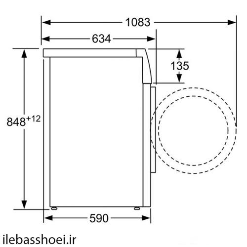 ماشین لباسشویی بوش مدل WAW32590