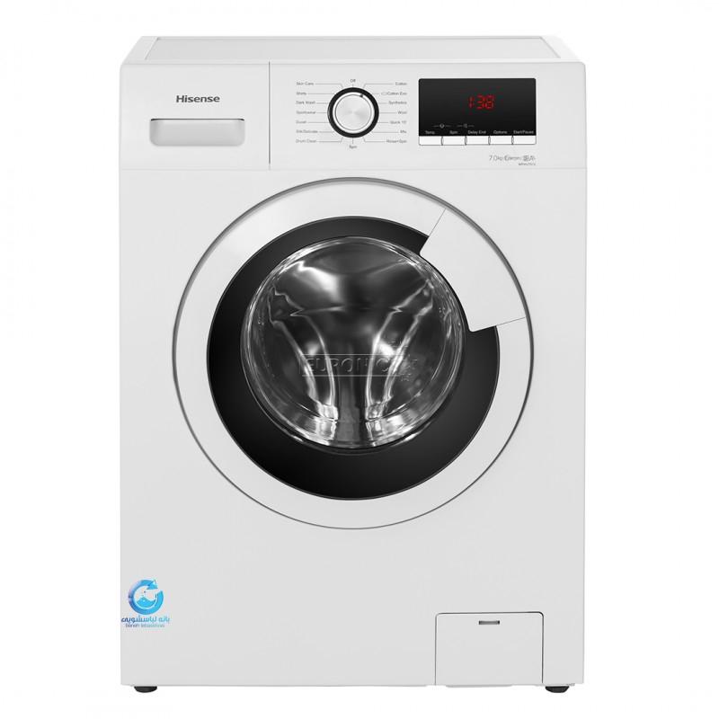 قیمت ماشین لباسشویی 7 کیلویی هایسنس مدل WFHV7012