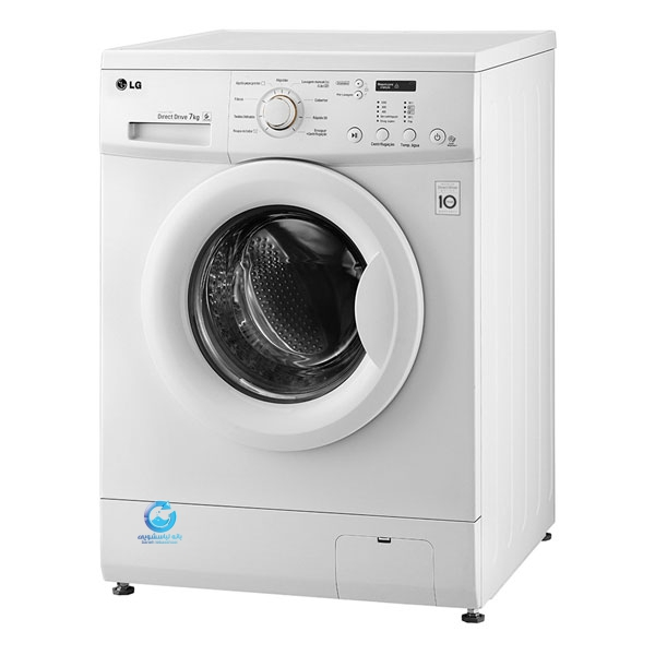 قیمت ماشین لباسشویی ٧ كيلويى ال جی مدل F10C3QDP2