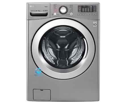 ماشین لباسشویی ۱۶ کیلو خشک کن ۱۰ کیلو ال جی مدل F0K2CHK5T2